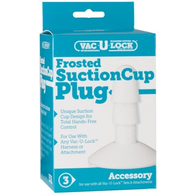 Succion Cup Vac-U-Lock - Frosted Plug