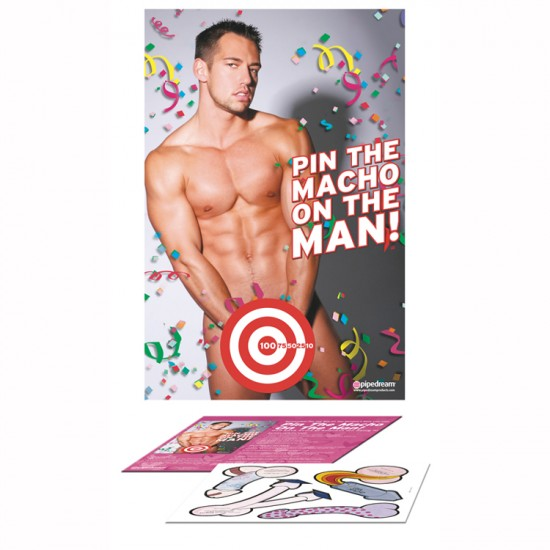 Jeu Pin the Macho