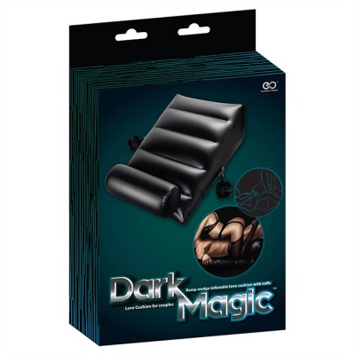 Lit de position Dark Magic - Deluxe Wedge Gonflable & Poignets