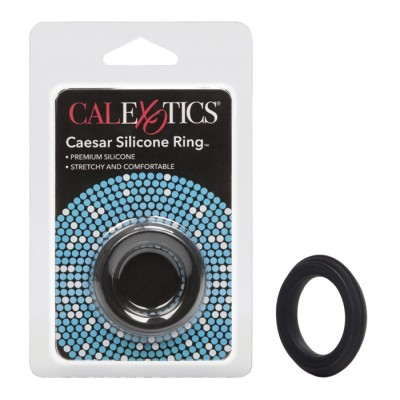 CockRing - Ceasar Silicone Ring Black