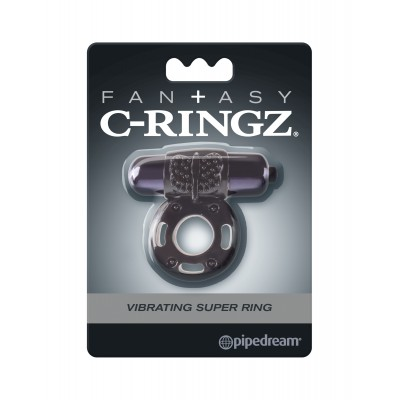 CockRing C-RINGZ Vibrant - Super Ring Black
